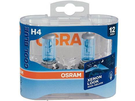 Žárovky do auta H4 OSRAM Cool Blue Intense 12V - 55/60W